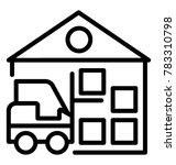 maximum storage capacity...   Shutterstock .eps vector #783310798