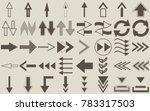 set of arrows | Shutterstock .eps vector #783317503
