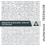 industry and building icon set... | Shutterstock .eps vector #783346108