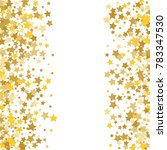 magic gold stars confetti.... | Shutterstock .eps vector #783347530