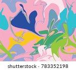 marble texture seamless pattern.... | Shutterstock .eps vector #783352198