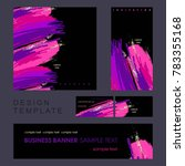 identity style. design template....   Shutterstock .eps vector #783355168