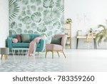 open deign of modern apartment... | Shutterstock . vector #783359260