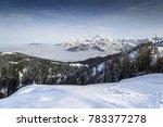 A Landscape Winter At Monte...