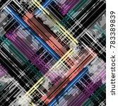 seamless pattern tartan design. ... | Shutterstock . vector #783389839