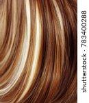 highlight hair texture abstract ... | Shutterstock . vector #783400288
