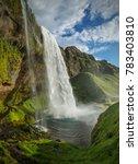 Seljalandsfoss Waterfall From...