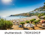 View Of Sandy Beach In Bay Of...