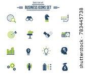 business solutions   vector... | Shutterstock .eps vector #783445738