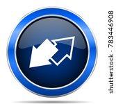 exchange vector icon. modern... | Shutterstock .eps vector #783446908
