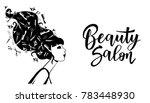 vector illustration of black... | Shutterstock .eps vector #783448930