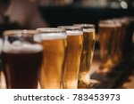 close up of a rack of different ...   Shutterstock . vector #783453973