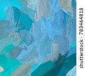 oil painting on canvas handmade.... | Shutterstock . vector #783464818