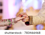 close up of pakistani couple's... | Shutterstock . vector #783466468