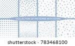 set of minimalist  vector... | Shutterstock .eps vector #783468100