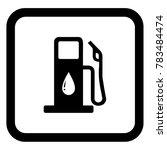 petrol pump vector | Shutterstock .eps vector #783484474