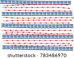 abstract blue and red color... | Shutterstock .eps vector #783486970