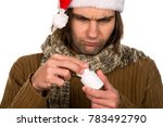 ill person with symptoms of...   Shutterstock . vector #783492790