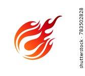 comet letter c initial logo | Shutterstock .eps vector #783502828