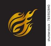 comet letter g initial logo | Shutterstock .eps vector #783502840