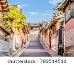 traditional korean style... | Shutterstock . vector #783514513