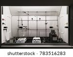 chemical fume hood used for... | Shutterstock . vector #783516283