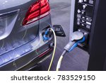 electric vehecle   ev   charger ... | Shutterstock . vector #783529150