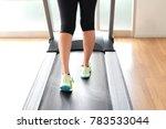 leg of woman running exercise ... | Shutterstock . vector #783533044