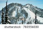 stevens pass  washington usa  ... | Shutterstock . vector #783556030