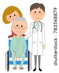doctors and wheelchair patients   Shutterstock .eps vector #783568879