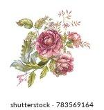 Flower Watercolor Garland
