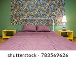interior bedroom with a large...   Shutterstock . vector #783569626