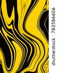 yellow and black digital... | Shutterstock . vector #783586606