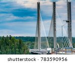 New bridge at Nipigon, Ontario, Canada