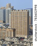 Small photo of Density of living in te city center of Dalian, Liaoning Province, China.