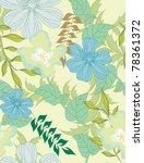 beautiful vector a seamless... | Shutterstock .eps vector #78361372