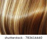 highlight hair texture abstract ... | Shutterstock . vector #783616660