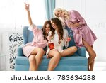 girls party. beautiful women... | Shutterstock . vector #783634288