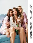 girls party. beautiful women... | Shutterstock . vector #783634354