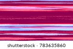 fabric texture with grunge... | Shutterstock .eps vector #783635860
