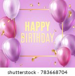 holday elegant card with party... | Shutterstock .eps vector #783668704