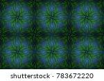 beautiful watercolor flowers ... | Shutterstock . vector #783672220