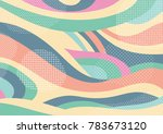 creative geometric colorful... | Shutterstock .eps vector #783673120