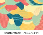 creative geometric colorful... | Shutterstock .eps vector #783673144