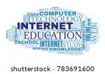 internet education concept....   Shutterstock .eps vector #783691600