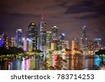 brisbane scenery  city view ... | Shutterstock . vector #783714253