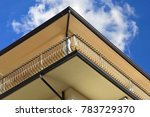 italian style balcony with hand ... | Shutterstock . vector #783729370