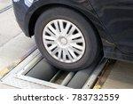 car brake test | Shutterstock . vector #783732559