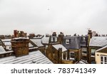 Snow Covered Roofs Of London...