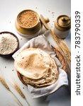 indian chapati   fulka or gehu... | Shutterstock . vector #783790339